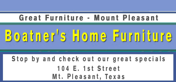 boatners furniture mt pleasant texas